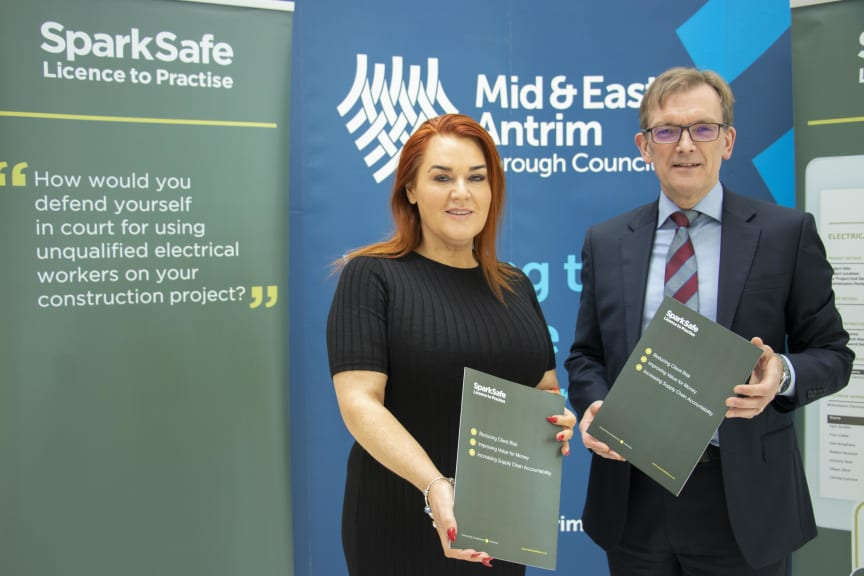 Council powers ahead in partnership with electrical industry regulation scheme