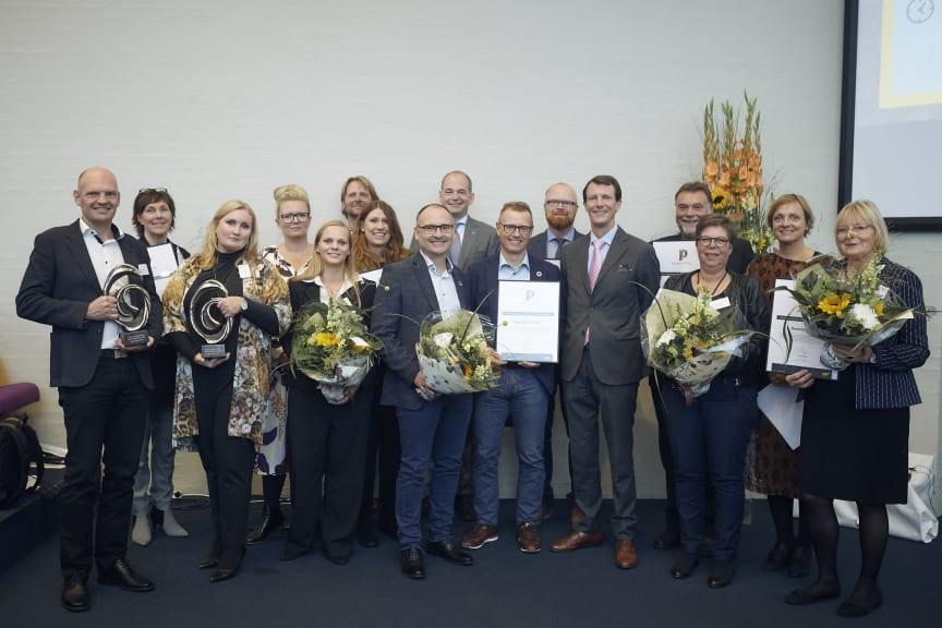 Vindere og nominerede virksomheder til CSR People Prize 2018