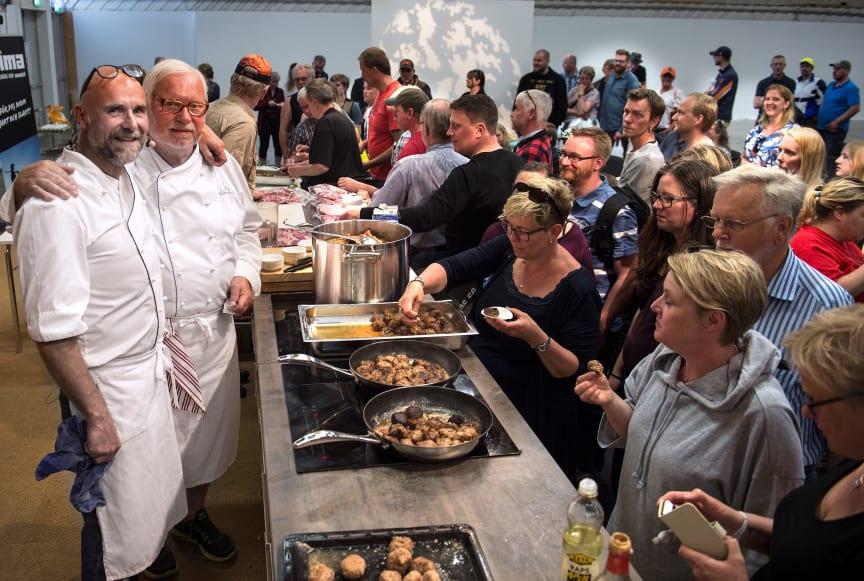Viltmatlagning med Leif Mannerström