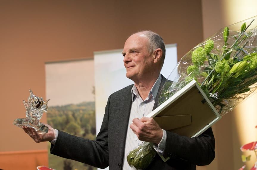 Rolf Löfgren får Artdatabankens naturvårdspris 2016.