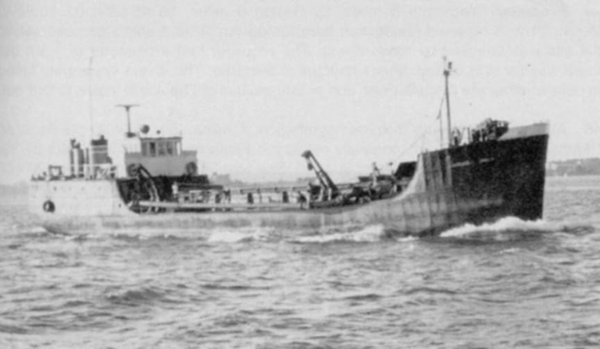 High res image - Raymarine - M/V Margaret Smith, as she appeared shortly before her sinking.  Photo courtesy of calshotdivers.com.