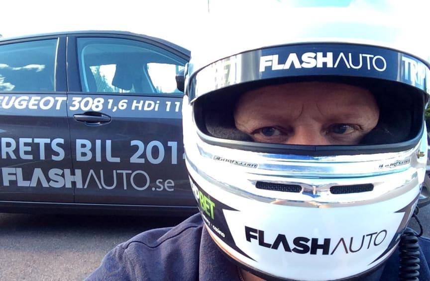 Flash Auto kör Peugeot