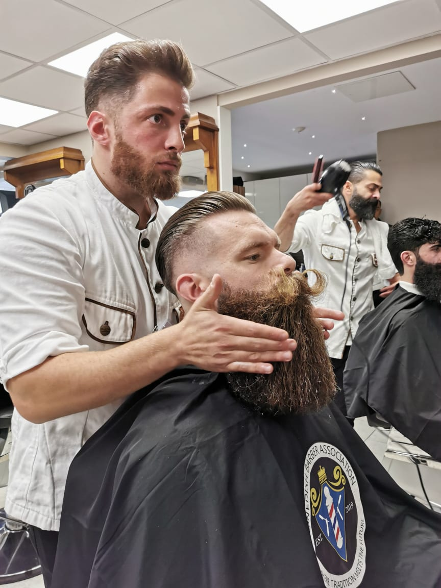 Omar Darwish, Sharper Barbershop