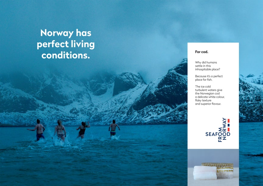 Globalt konsept Seafood from Norway - Torsk