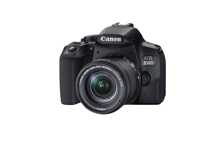 Canon EOS 850D EF-S18-55mm F4-5.6ISSTM BK FSL