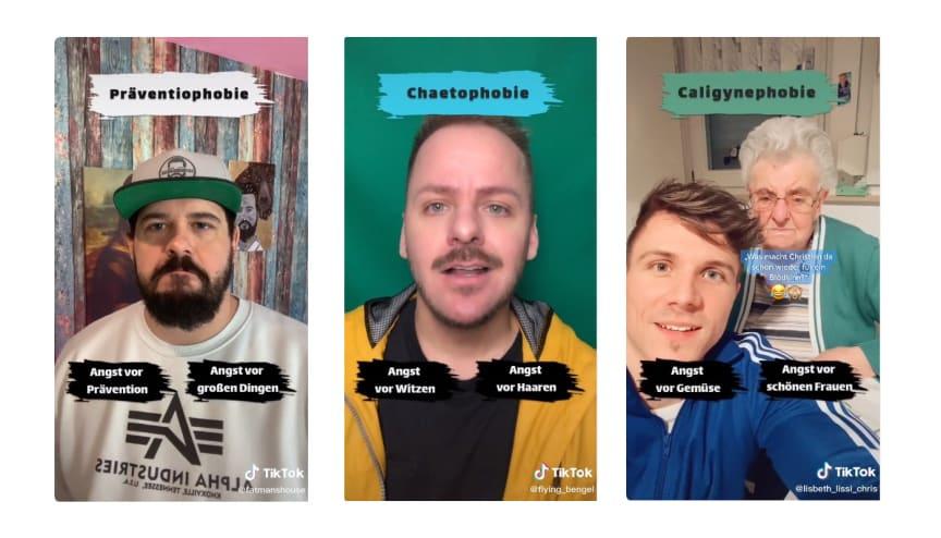 TikTok For Good: Hashtag-Challenge #Präventiophobie