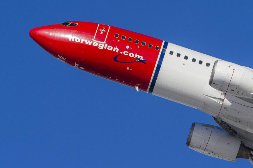 Norwegian's 737-800 aircraft