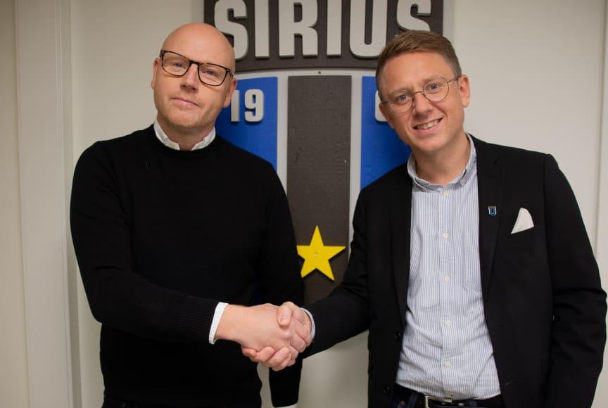 Fortsatt samarbete för Stadium och Sirius