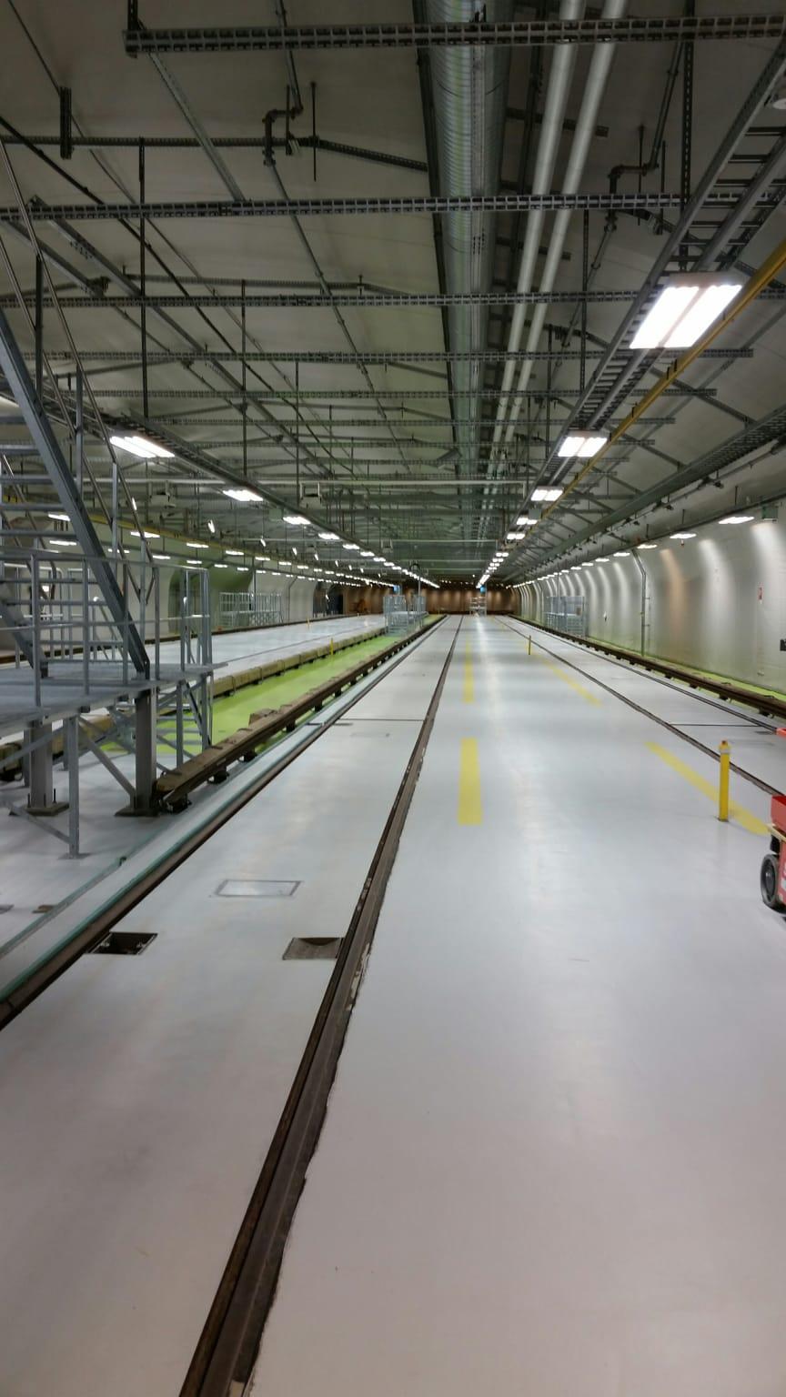 Tunnelbanedepån, Norsborg