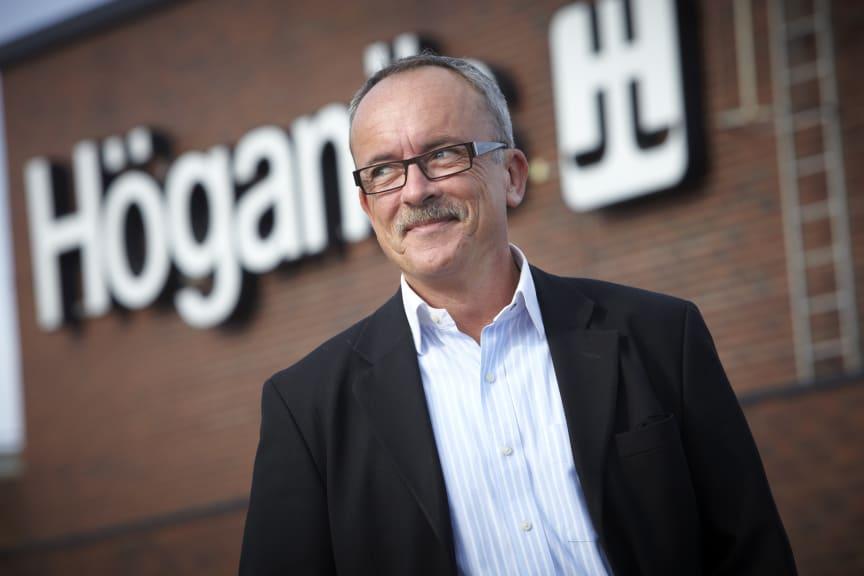 Peter Blomgren, IT-chef, Höganäs AB