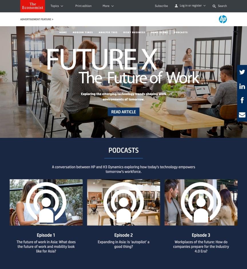 Future X – The Future of Work