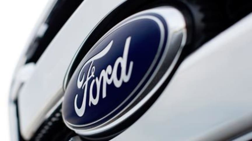 Ford m oval logo