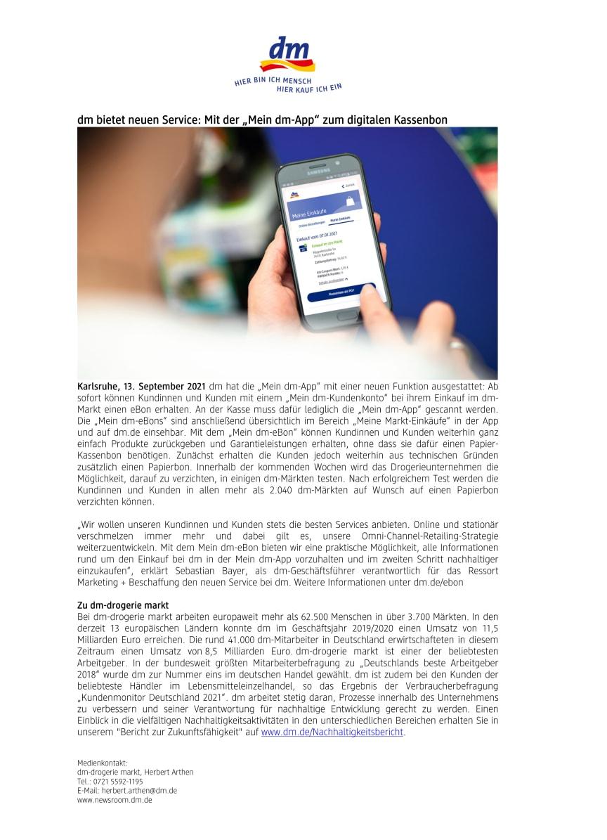 21-09-13 PM_dm bietet neuen Service_ Mit der Mein dm-App zum digitalen Kassenbon.pdf