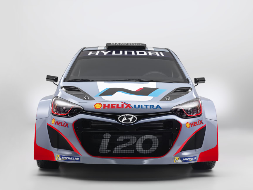 i20 WRC Front