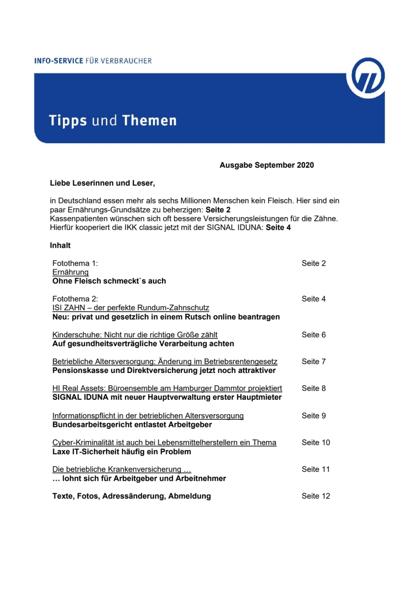 Tipps und Themen 9-2020