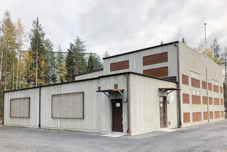 Station Universitetet - Umeå Energi