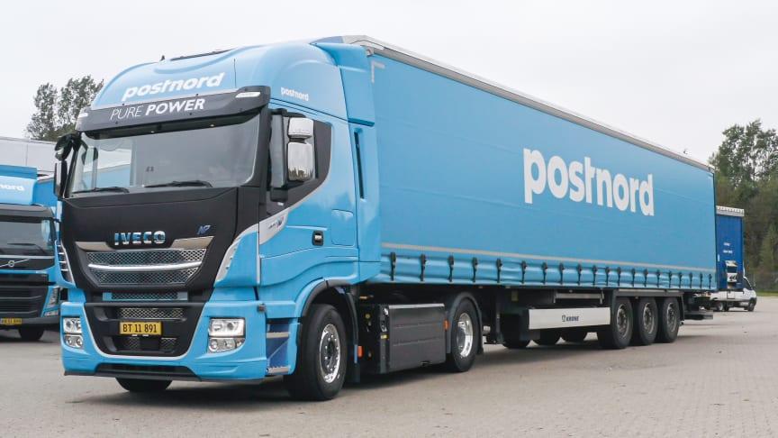 PostNord tester bæredygtig lastbilstrækker fra IVECO