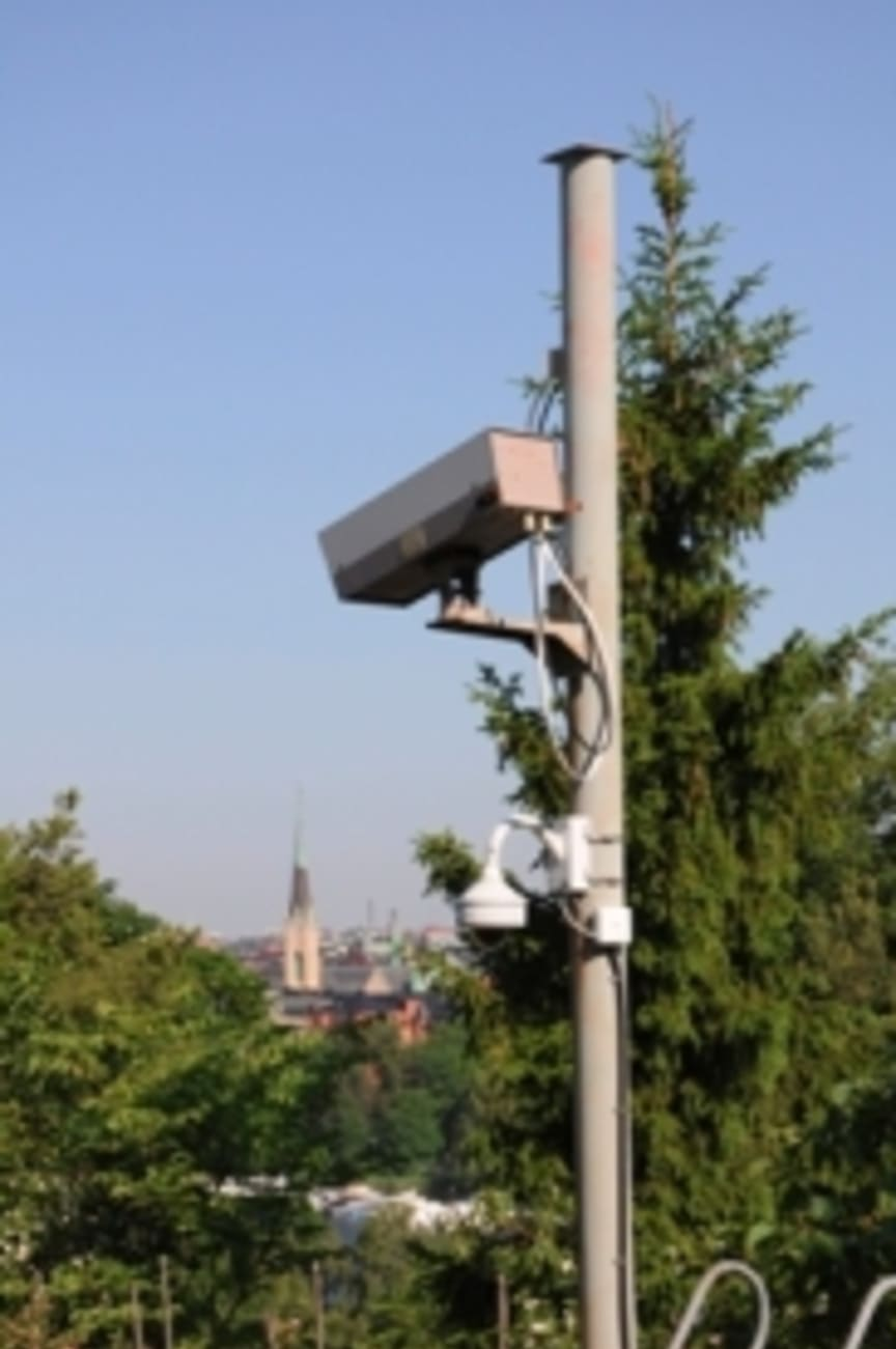 Skansen has equipped the open air museum with surveillance cameras
