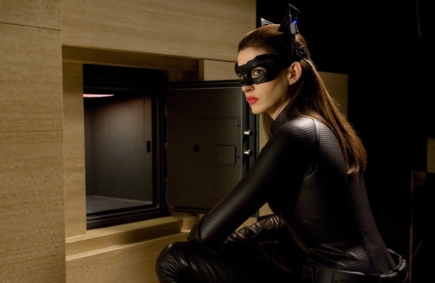 Anne Hathaway kan opleves som Catwoman i Christopher Nolans The Dark Knight Rises