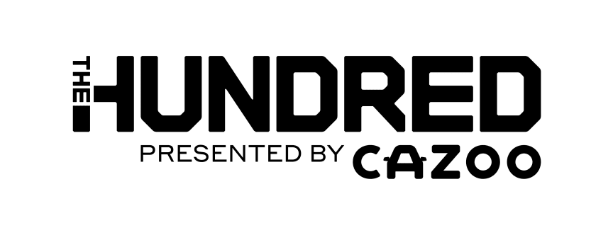 The Hundred x Cazoo updated logo