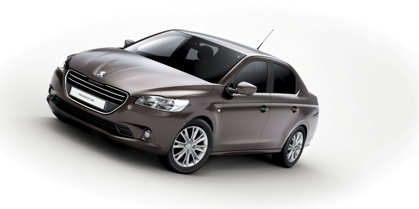 Ännu en ny modell för världsmarknaden – Peugeot 301