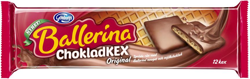 Ballerina chokladkex original