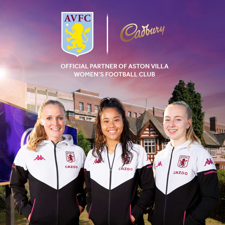 Mondelēz International and Aston Villa Women Football Club
