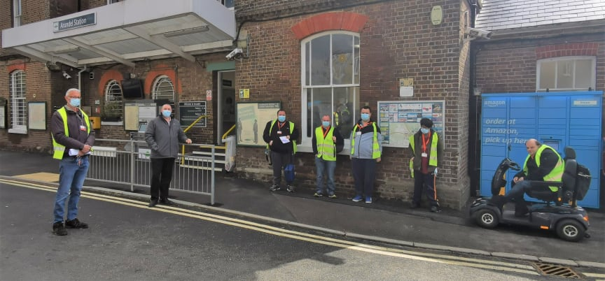 Southern completes re-familiarisation session at Arundel