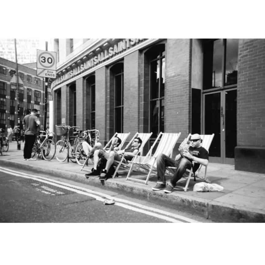 Deck chairs, Spitalfields