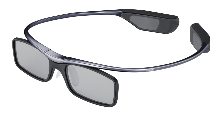 TV-tillbehör 3D-glasögon