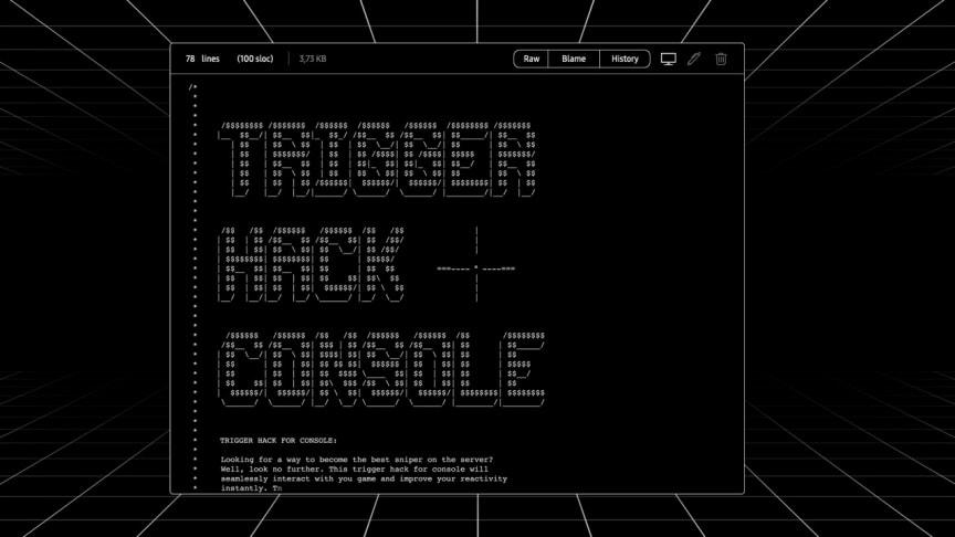 Trigger hack console