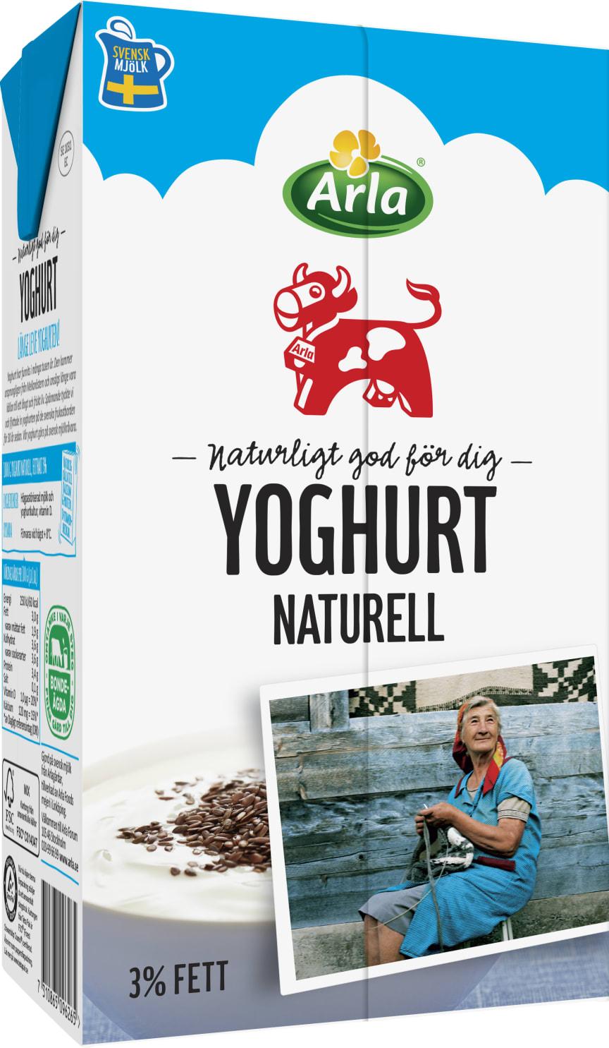 Arla Ko Yoghurt naturell högupplöst
