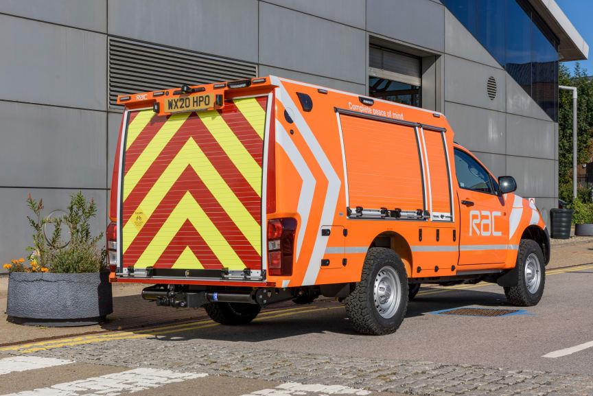 The 2020 RAC Heavy Duty patrol van