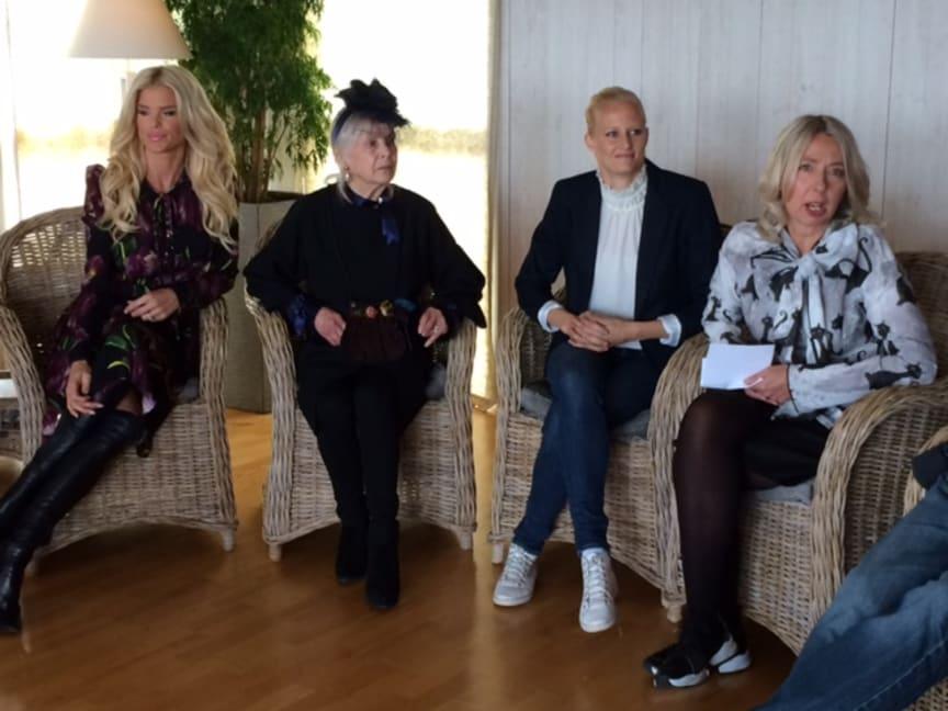 Victoria Silvstedt, Carita Järvinen, Carolina Klüft