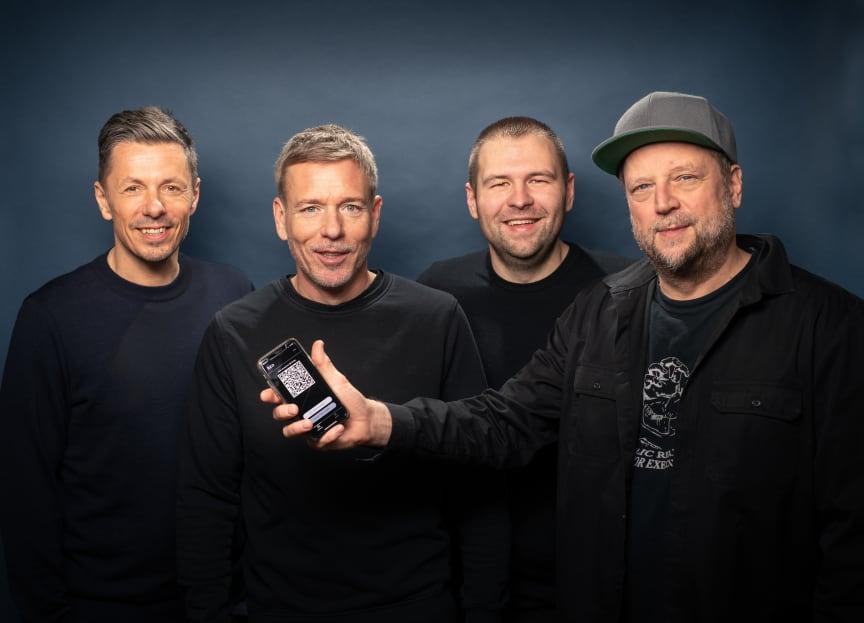 Die Fantastischen Vier und die luca-APP