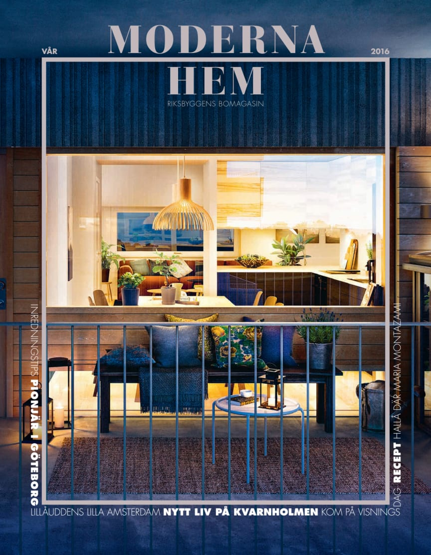Moderna hem nr 1 2016, Vår/sommar