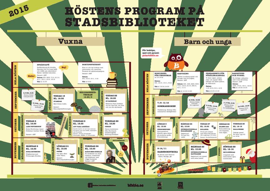 Program, Bodens stadsbibliotek
