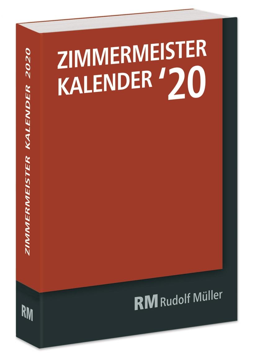 Zimmermeister Kalender `20 (3D/tif)