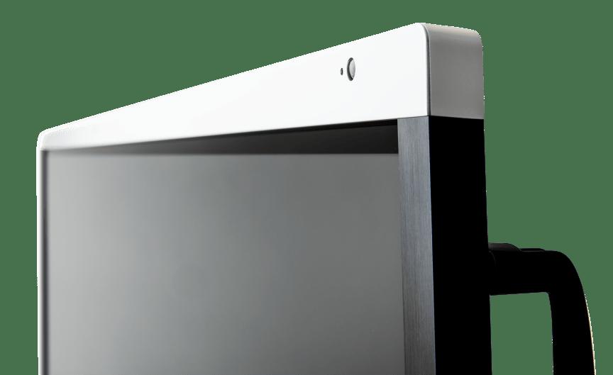 SMART Board 6000S-left-angle-closeup-top