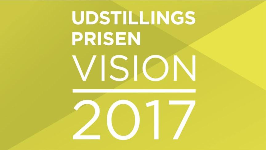 Udstillingsprisen Vision 2017 logo