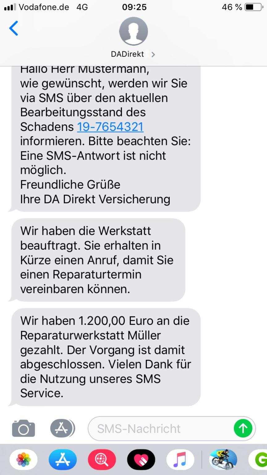 DA Direkt - SMS Informationsservice_Beispielbild2