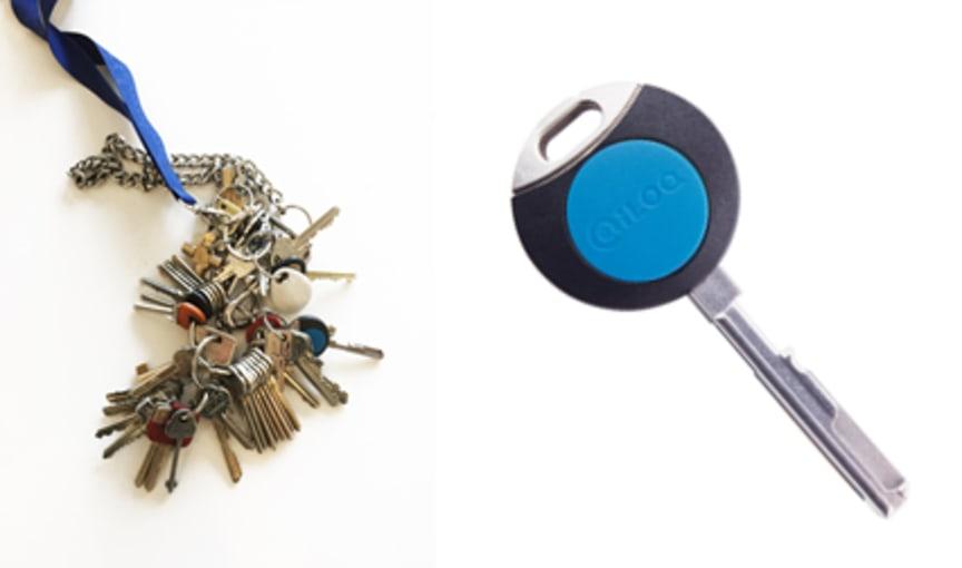 Mailbild nycklar