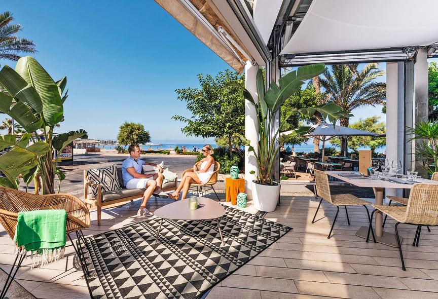 2019-05-14 allsun Hotel Marena Beach - Restaurant-Terrasse