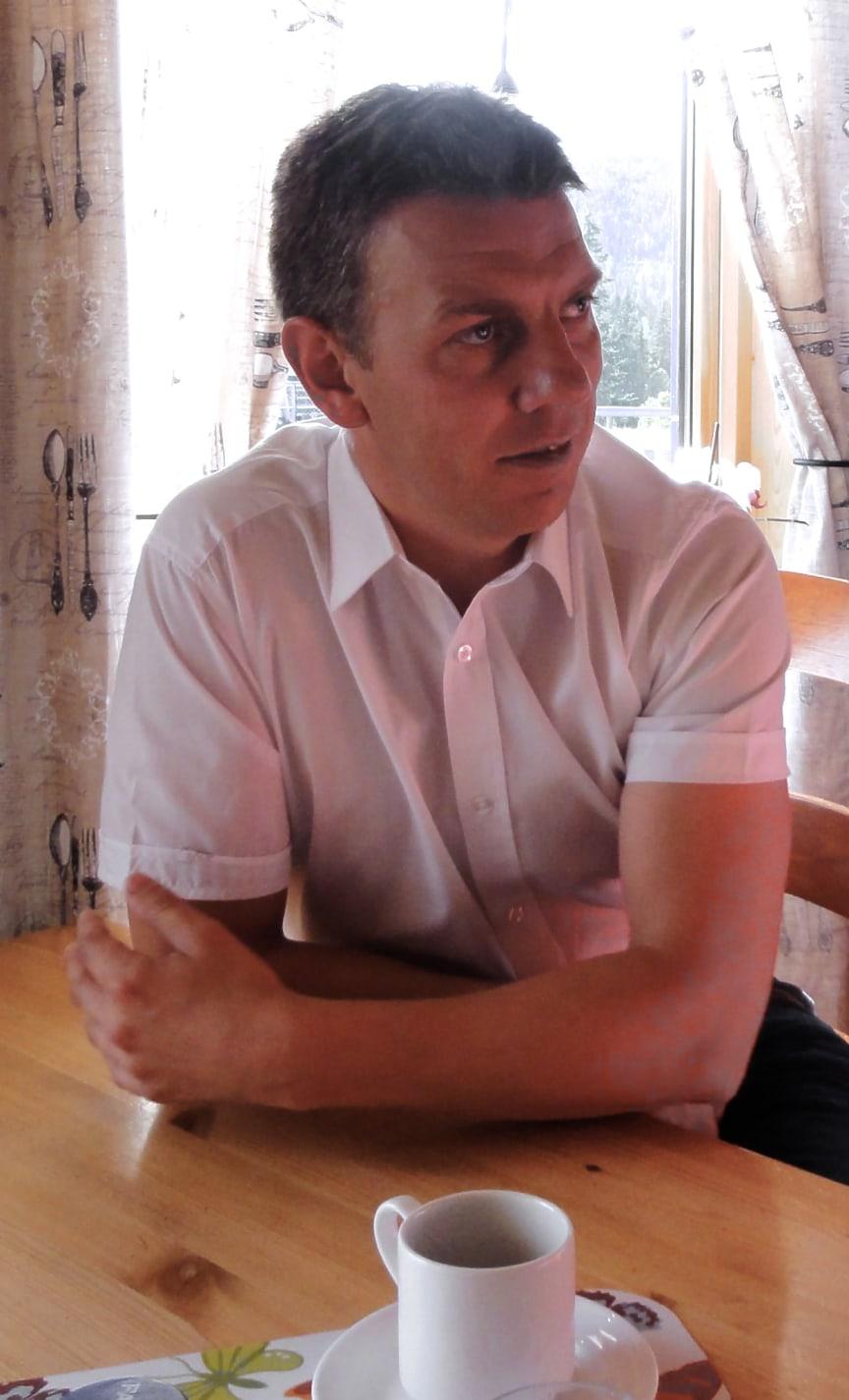Ordfører Stian Brekkvassmo i Namsskogan