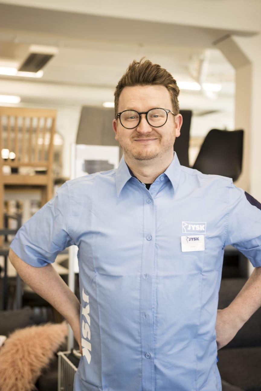 Distrikssjef Andre Skåre