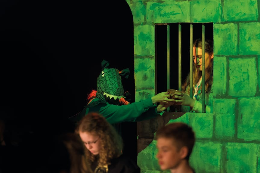 Draken från Sopranien – bild från förra årets föreställning