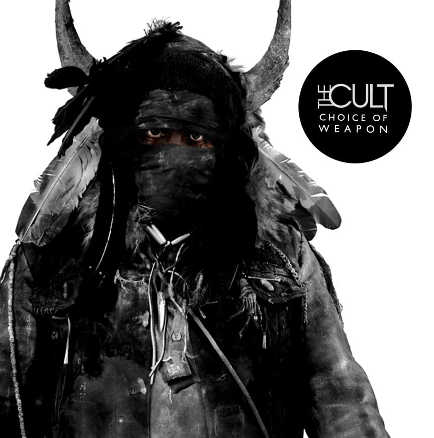 """THE CULT """"Choice Of Weapon"""" album cover"""