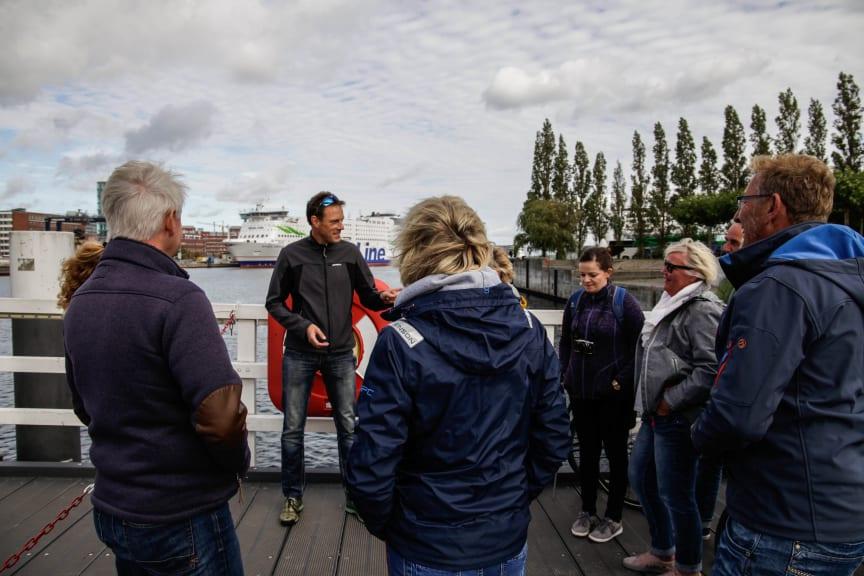 Geführte Kieler Tatort Radtour