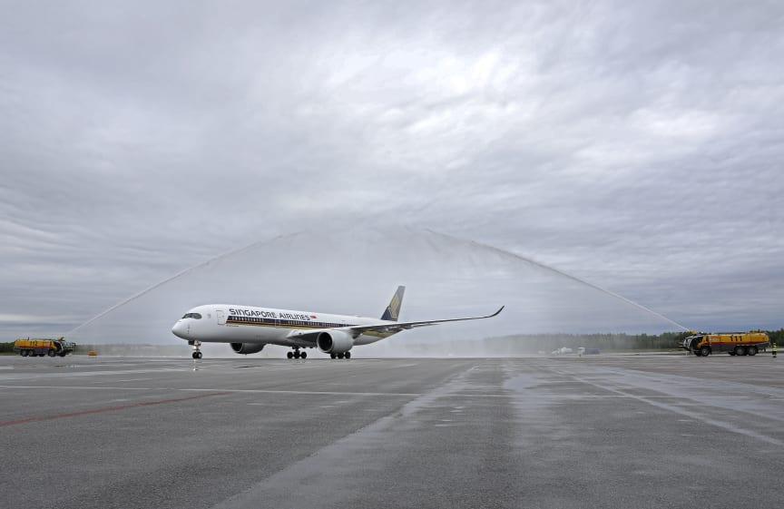 Singapore Airlines på Arlanda