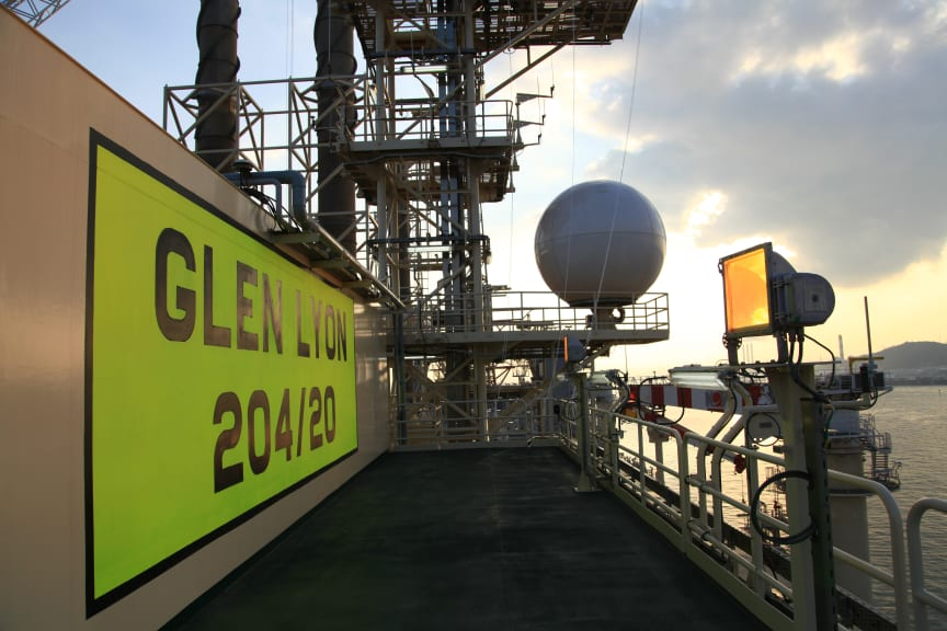 Deck of the Glen Lyon